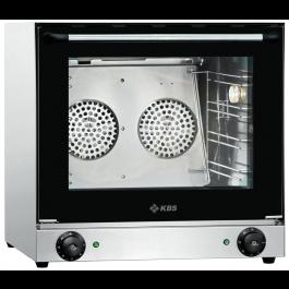 Heißluftofen 2,7 kW für 4 Bleche/Roste 430x320mm - KBS