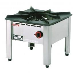 Hockerkocher1 Hochleistungsbrenner mit 13kW - KBS