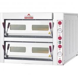 Pizzaofen elektro 13 kWfür 6+6 Pizzen ø32cm - KBS