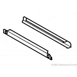 Auflagenschienenpaar für KTM Serie, Saladetten und KU 355 - KBS