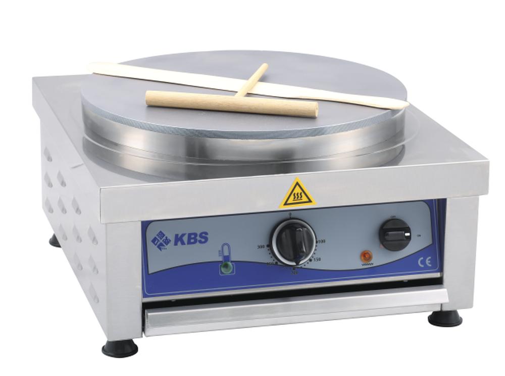 Crepiere elektro 1 Platte Ø40 cm - KBS
