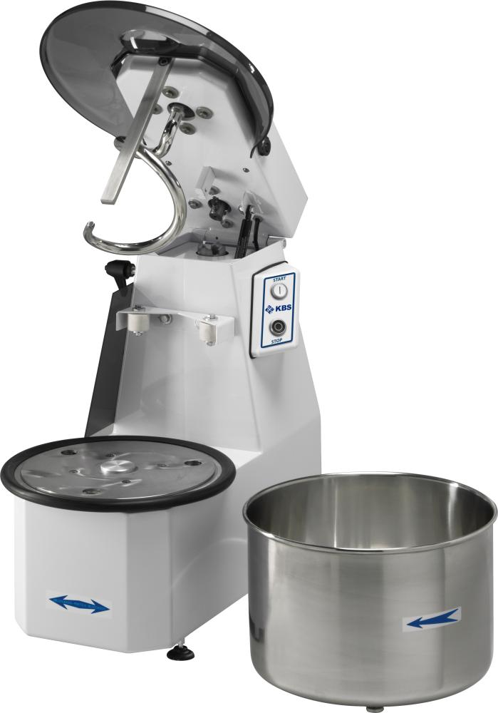 Teigknetmaschine für 12kg Teig Kessel entnehmbar - KBS