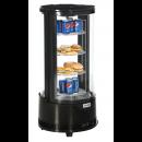 Aufsatz-Kühlvitrine Rondo mit 4 Etagen - KBS