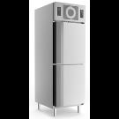 Edelstahlkühlschrank KU 725 2 türig mit Trennwand - KBS