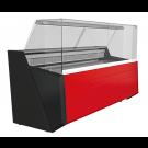 Freikühltheke Nika Lux 2503 Rückschiebescheiben - KBS