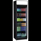 Glastürkühlschrank FLK 365 schwarz - KBS