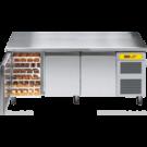 Bäckereikühltisch BKTF 3020 M (Arbeitsplatte mit Aufkantung) - KBS