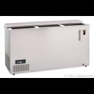 Edelstahl FlaschentruheGetränkekühltruhe AL 150 - KBS